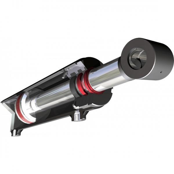 Cilindro Pneumatico doppio effetto CNOMO d.40 corsa 200 tipo 14004-200