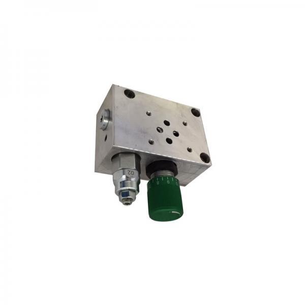 Bucher 4 Bank 3/8 BSP 45 l/min Double Acting Cylinder Spool Hydraulic Monoblock