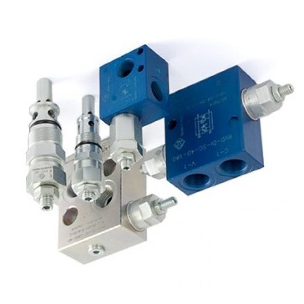 Bucher 3 Bank 1/2 BSP 45 l/min Double Acting Cylinder Spool Hydraulic Monoblock