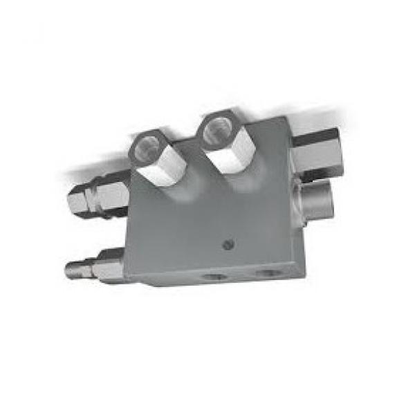 Hydraulic 4 Way Diverter Valve Open Centre
